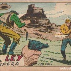 Tebeos: LA LEY IMPERA. Lote 296627043
