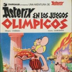 Tebeos: ASTERIX EN LOS JUEGOS OLÍMPICOS. TAPA DURA. GRIJALBO 1977. Lote 296688323