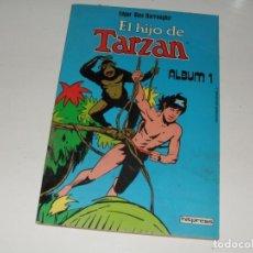 Tebeos: EL HIJO DE TARZAN,RETAPADO,ALBUM 1.HITPRESS EDICIONES.. Lote 296720443