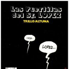 Tebeos: LAS PUERTITAS DEL SR. LOPEZ - TRILLO / ALTUNA - ANTONIO SAN ROMAN 1981.. Lote 297096473