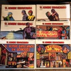 Tebeos: EL HOMBRE ENMASCARADO - COMPLETA 6 VOLUMENES - RAY MOORE - EDICIONES BO. Lote 297101838
