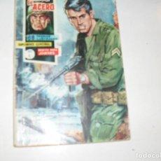 Tebeos: CASCO DE ACERO 9.(DE 20).EDICIONES FERMA,AÑO 1963.. Lote 297155073