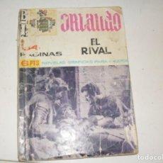 Tebeos: BI ORLANDO:EL RIVAL.NOVELA GRAFICA.IMPERIA EDICIONES,AÑO 1966.. Lote 297157568