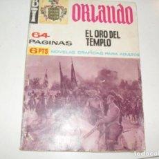 Tebeos: BI ORLANDO:EL ORO DEL TEMPLO.NOVELA GRAFICA.EDICIONES A.DE A.,AÑO 1966.. Lote 297157908