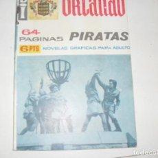Tebeos: BI ORLANDO 12:PIRATAS.NOVELA GRAFICA.EDICIONES A.DE A.,AÑO 1966.. Lote 297160428