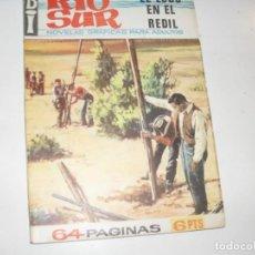 Tebeos: BI RIO SUR 7:EL LOBO EN EL REDIL.NOVELA GRAFICA.EDICIONES A.DE A.,AÑO 1966.. Lote 297160583