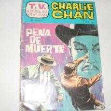 Tebeos: T.V.NOVELAS GRAFICAS 10:CHARLIE CHAN.EDICIONES TORAY,AÑO 1963.. Lote 297160883