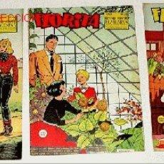 Tebeos: 3 ANTIGUOS TEBEOS DE FLORITA - ED. CLIPER - 1958 APROXIMANDAMENTE - REVISTA DE NIÑAS. Lote 4782855