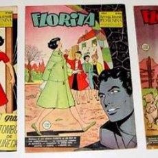 Tebeos: 3 ANTIGUOS TEBEOS DE FLORITA - ED. CLIPER - 1958 APROXIMANDAMENTE - REVISTA DE NIÑAS. Lote 853691