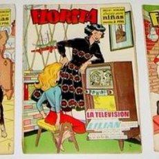 Tebeos: 3 ANTIGUOS TEBEOS DE FLORITA - ED. CLIPER - 1958 APROXIMANDAMENTE - REVISTA DE NIÑAS. Lote 853709