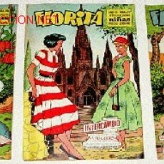 Tebeos: 3 ANTIGUOS TEBEOS DE FLORITA - ED. CLIPER - 1958 APROXIMANDAMENTE - REVISTA DE NIÑAS. Lote 26891993