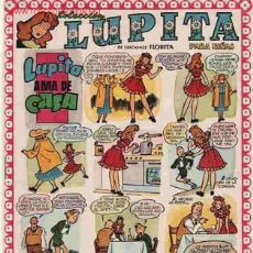 Tebeos: LUPITA Nº 10 - ORIGINAL MUY BONITO DE CLIPER 1950 - IMPORTANTE LEER TODO. Lote 8997239