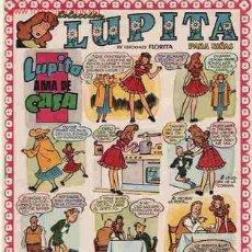 Tebeos: LUPITA Nº 10 - ORIGINAL MUY BONITO DE CLIPER 1950 - LEER. Lote 8997239