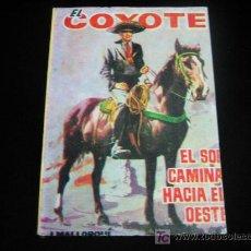 Tebeos: EL COYOTE Nº81 J.MALLORQUI EDICIONES CID 1962. Lote 5821794