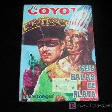 Tebeos: EL COYOTE Nº 76 J.MALLORQUI EDICIONES CID 1962. Lote 5821792