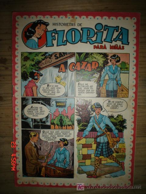 FLORITA-Nº82 (Tebeos y Comics - Cliper - Florita)