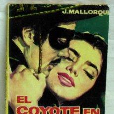 Tebeos: NOVELA DEL COYOTE Nº 24 EL COYOTE EN LA HACIENDA TRÁGICA ED CID 1961. Lote 287675773