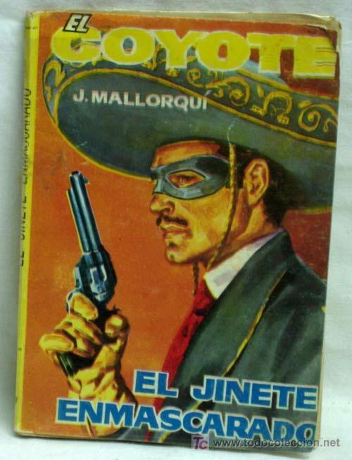 EL COYOTE Nº 36 EL JINETE ENMASCARADO EDICIONES CID 1961 (Tebeos y Comics - Cliper - El Coyote)