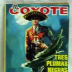 Tebeos: EL COYOTE Nº 65 TRES PLUMAS NEGRAS EDICIONES CID 1962. Lote 5218024