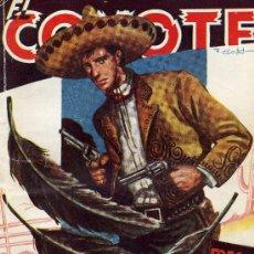 Tebeos: EL COYOTE Nº 55 (J. MALLORQUÍ) TRES PLUMAS NEGRAS. EDIT. CLÍPER, 1947. ILUSTRACIONES BATET. Lote 6150999