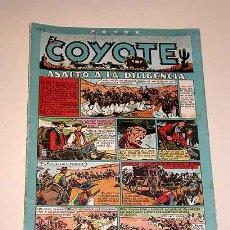 Tebeos: EL COYOTE Nº 40. ASALTO A LA DILIGENCIA. CLIPER. BATET, ROSO, DARNIS, URDA, POCH, BLASCO, GENIES..... Lote 27332683
