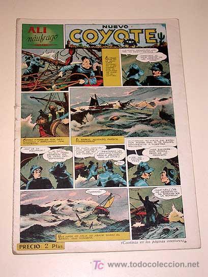 NUEVO COYOTE Nº 102. ALI NAUFRAGO POR FRANCO CAPRIOLI. CLIPER. RED RYDER, ALLAGALLA. BATET, PORTO... (Tebeos y Comics - Cliper - El Coyote)