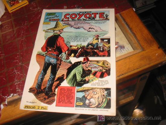 COYOTE N-113,ORIGINAL. (Tebeos y Comics - Cliper - El Coyote)