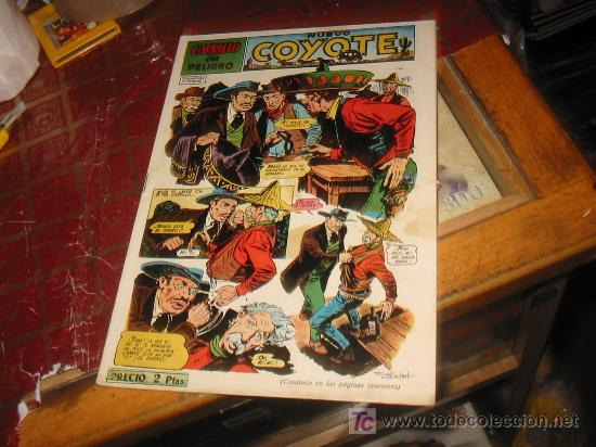 COYOTE N-114,AÑO 1947,ORIGINAL. (Tebeos y Comics - Cliper - El Coyote)