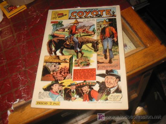 COYOTE N-110,AÑO 1947,ORIGINAL. (Tebeos y Comics - Cliper - El Coyote)