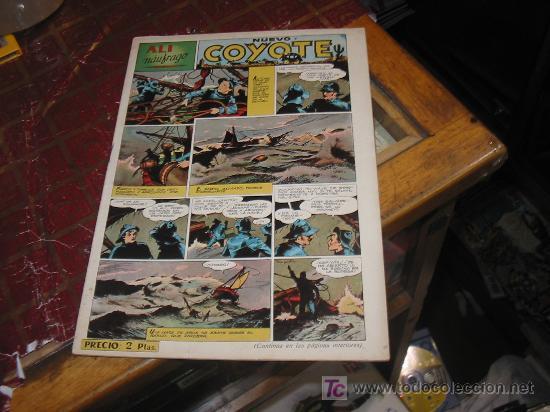 COYOTE N-102,AÑO 1947,ORIGINAL. (Tebeos y Comics - Cliper - El Coyote)
