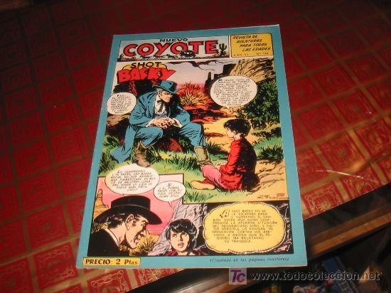 EL COYOTE N-138,ORIGINAL, . (Tebeos y Comics - Cliper - El Coyote)
