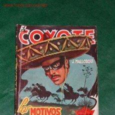 Tebeos: EL COYOTE N.65 LOS MOTIVOS DEL COYOTE DE J.MALLORQUÍ. Lote 26495117
