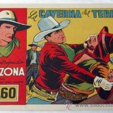 Tebeos: EL INTRÉPIDO ARIZONA Nº 5 LA CAVERNA DEL TERROR ED CLIPPER 1946. Lote 9946258