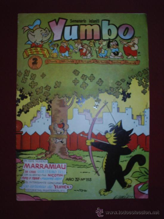 YUMBO-N.153-CLIPER (Tebeos y Comics - Cliper - Yumbo)