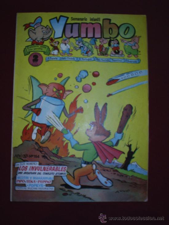 YUMBO-N.154--CLIPER (Tebeos y Comics - Cliper - Yumbo)