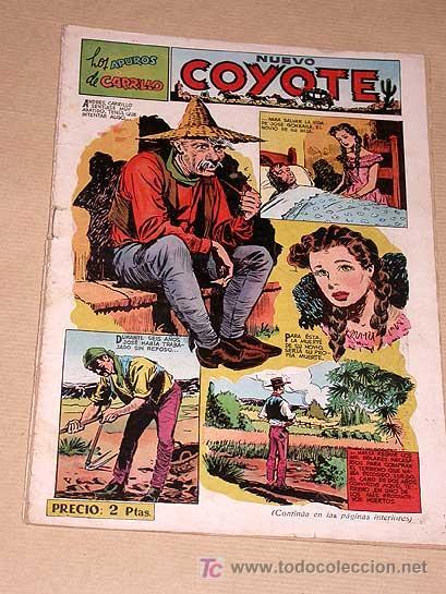 NUEVO COYOTE Nº 109. APUROS DE CARRILLO. BATET, DARNÍS, BIELSA, HARMAN, A. BLASCO. EDICIONES CLIPER. (Tebeos y Comics - Cliper - El Coyote)