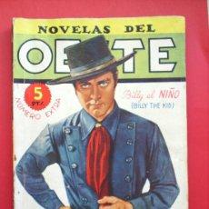 Tebeos: NOVELAS DEL OESTE-NUMERO EXTRA -BILLY EL NIÑO--J. MALLORQUI-EDIC. CLIPER. Lote 26957813