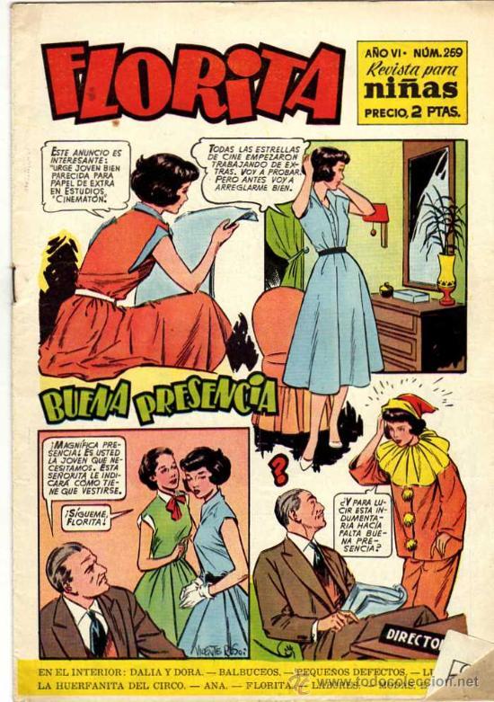 FLORITA # 259 - CLIPER (Tebeos y Comics - Cliper - Florita)
