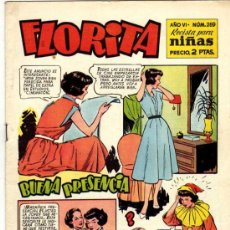 Tebeos: FLORITA # 259 - CLIPER. Lote 22591740
