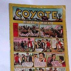 Tebeos: EL COYOTE Nº 21. RECIBO DE MUERTE. CLIPER. ENCAPUCHADO, FLORITA, MR. RADAR. FIGUERAS, ROSO, DARNIS. . Lote 27332674