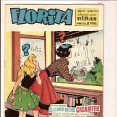 Tebeos: FLORITA Nº 333 EDITA CLIPER . Lote 26155532