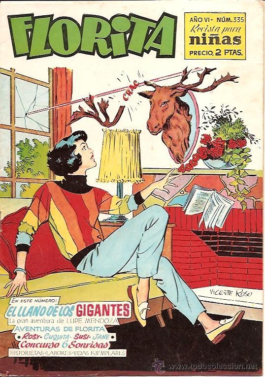 FLORITA Nº 335 EDICIONES CLIPER (Tebeos y Comics - Cliper - Florita)