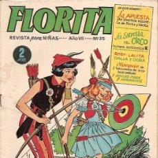 Tebeos: FLORITA Nº 315 EDICIONES CLIPER. Lote 19906676