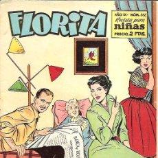 Tebeos: FLORITA Nº 382 EDICIONES CLIPER. Lote 20023553
