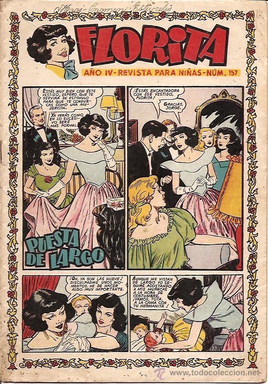 FLORITA Nº 157 EDICIONES CLIPER (Tebeos y Comics - Cliper - Florita)