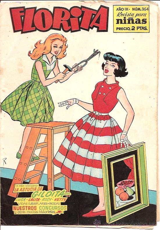 FLORITA Nº 354 EDICIONES CLIPER (Tebeos y Comics - Cliper - Florita)