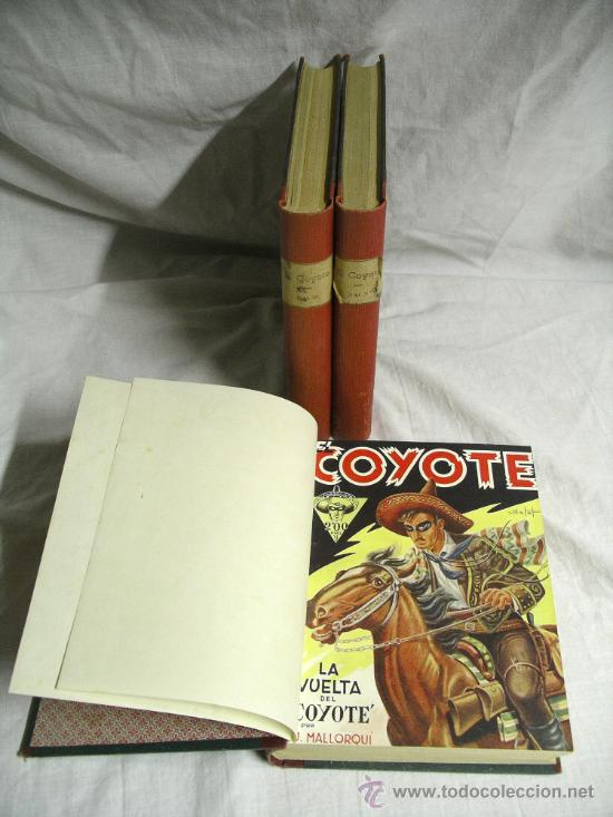 EL COYOTE AÑO 1946 EDICIONES CLIPER DEL Nº 1 AL 10 + Nº 1, 2 Y 3 EXTRAORDINARIO (Tebeos y Comics - Cliper - El Coyote)
