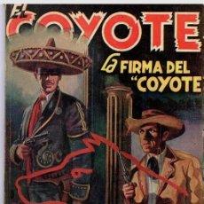 Tebeos: EL COYOTE # 41 - LA FIRMA DEL COYOTE - J.MALLORQUI Y F.BATET - QUEROMON EDITORES - AÑO 1950 . Lote 24754327