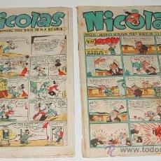 Tebeos: REVISTA SEMANAL NICOLAS - NUM. 135, 217 - ED. GUADA.. Lote 14223220