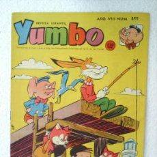Tebeos: YUMBO NUMERO 355,EDITIRIAL CLIPER 1958. Lote 20330526
